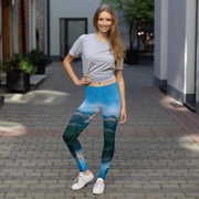 Rocky Blue Leggings | Submission Shark - tamlifestyle