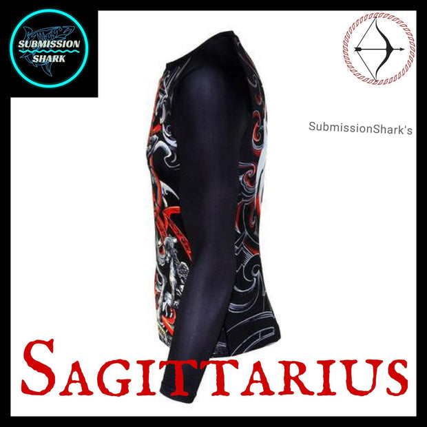 Sagittarius Rashguard (Long Sleeve) | Submission Shark