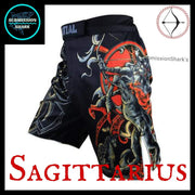 Sagittarius MMA Shorts | Submission Shark Left