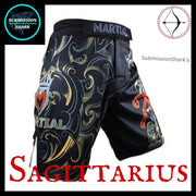 Sagittarius MMA Shorts | Submission Shark Right