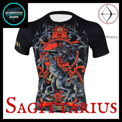 Sagittarius Rashguard | Submission Shark Front