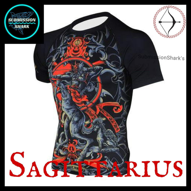 Sagittarius Rashguard | Submission Shark Left
