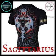 Sagittarius Rashguard | Submission Shark Back Right