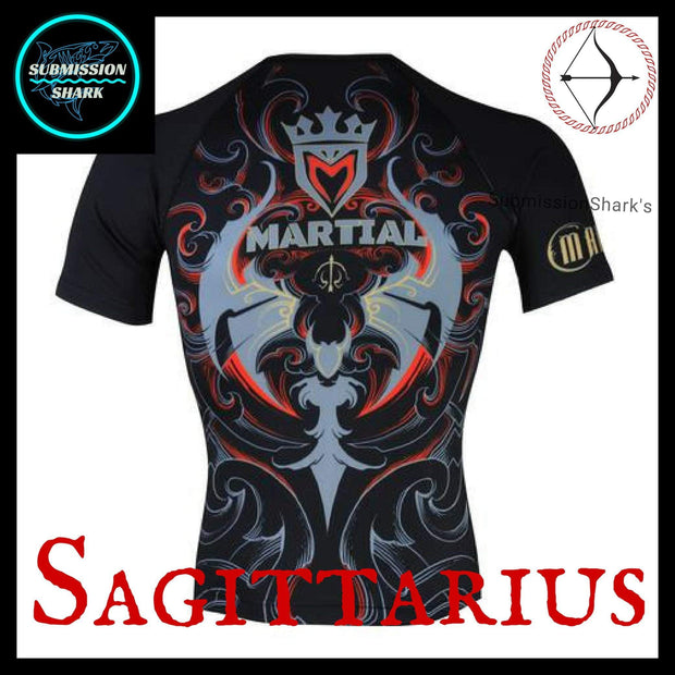 Sagittarius Rashguard | Submission Shark Back