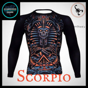 Scorpio Rashguard (Long Sleeve) | Submission Shark Front