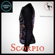 Scorpio Rashguard (Long Sleeve) | Submission Shark Left