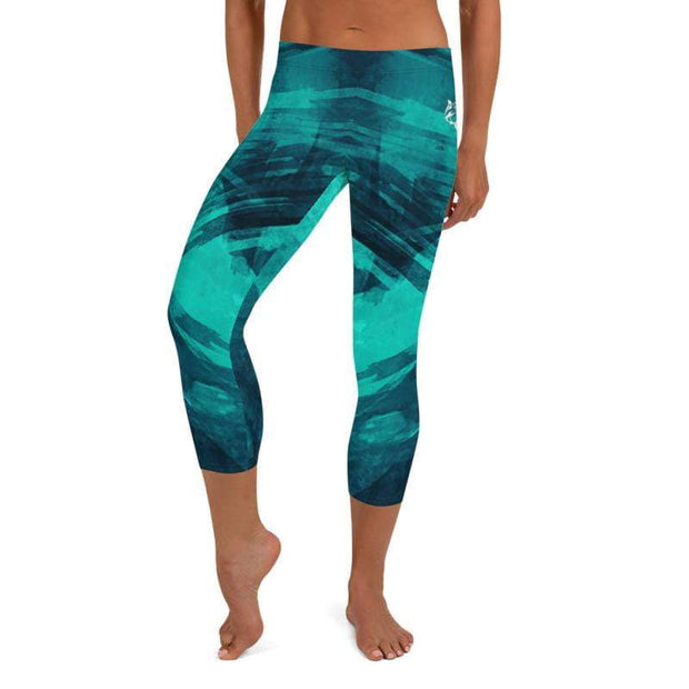 Shark Armour | Capri Leggings | Submission Shark - tamlifestyle