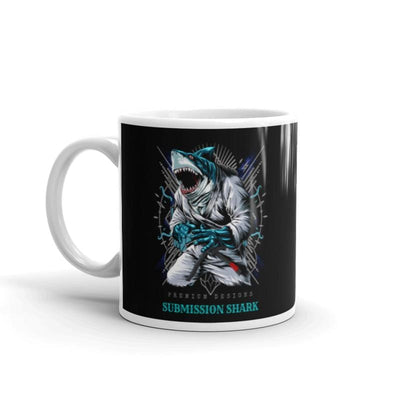 Shark Frenzy Mug | Submission Shark - tamlifestyle