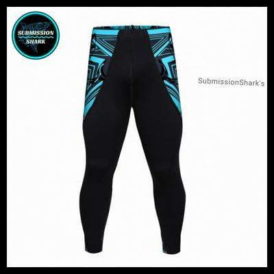 Submission Shark's Legendary Shark Frenzy Compression Spats | Limited Edition | Front