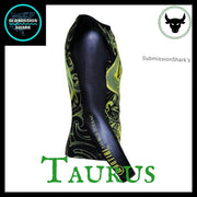 Taurus Rashguard (Long Sleeve) | Submission Shark's Dark Zodiac Series