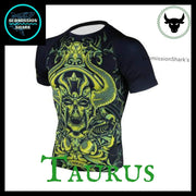 Taurus Compression Rashguard | Submission Shark's Dark Zodiac Series