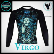 Virgo Rashguard (Long Sleeve) | Submission Shark | Front