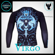 Virgo Rashguard (Long Sleeve) | Submission Shark - tamlifestyle