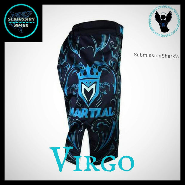 Virgo MMA Shorts | Submission Shark | Right SIde