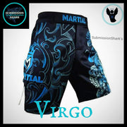 Virgo MMA Shorts | Submission Shark | Front Right