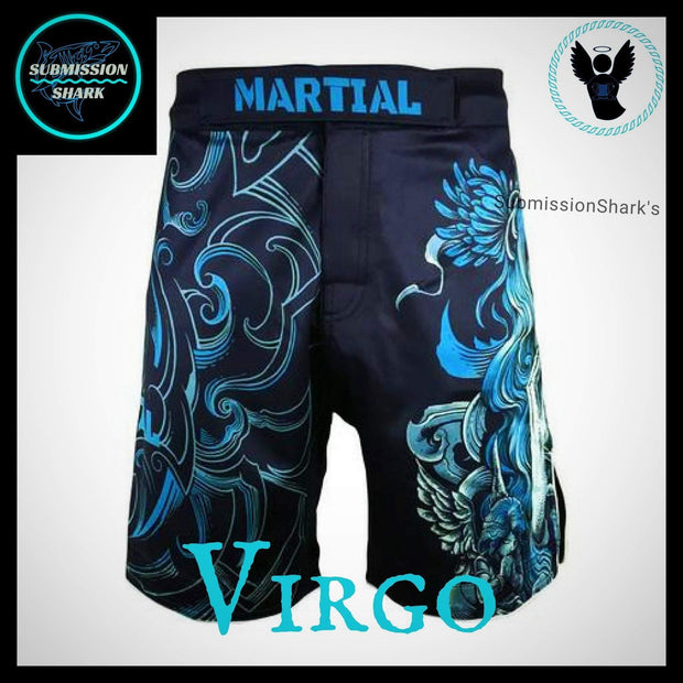 Virgo MMA Shorts | Submission Shark | Front