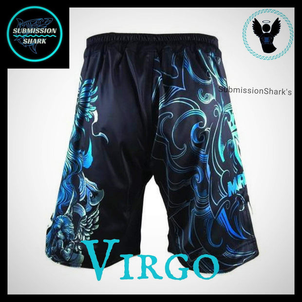 Virgo MMA Shorts | Submission Shark | Back