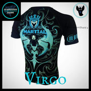 Virgo Compression Shirt | Submission Shark | Back Side
