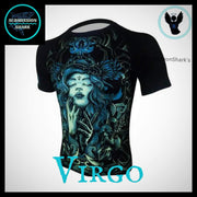 Virgo Compression Shirt | Submission Shark | Front Left Side
