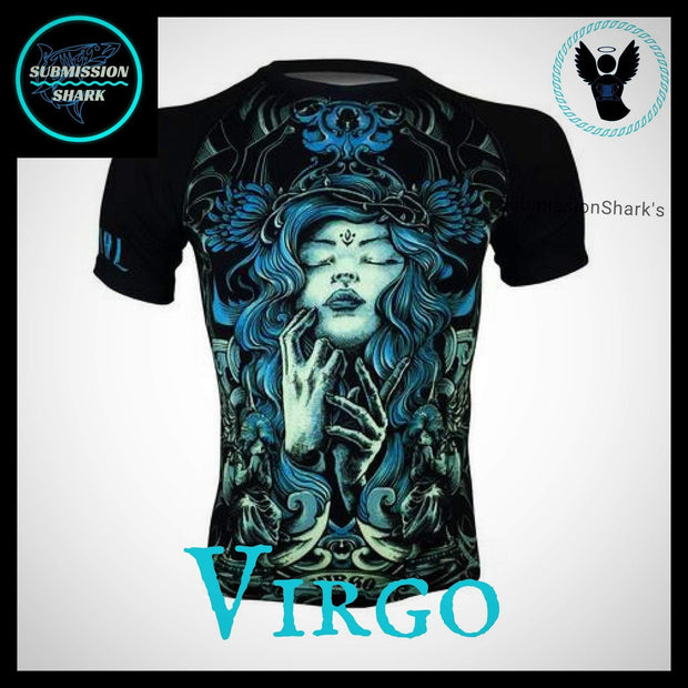 Virgo Compression Shirt | Submission Shark | Front