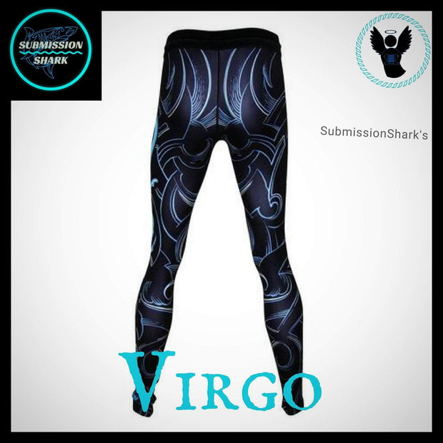 Virgo Compression Spats | Submission Shark | Back