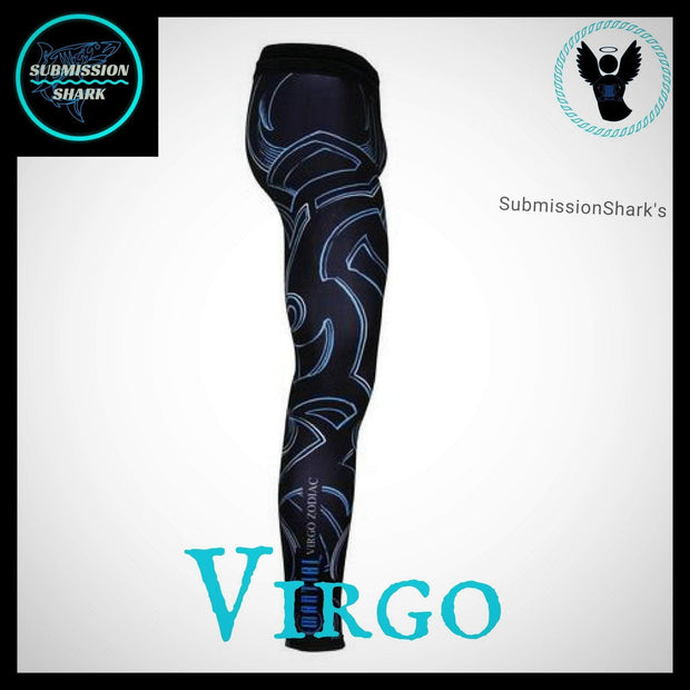 Virgo Compression Spats | Submission Shark | Right Side