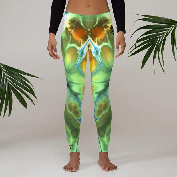 Liquid Trip Leggings | Submission Shark - tamlifestyle