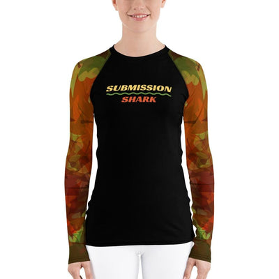 Shop Women's BJJ Rash Guard (Maple Fall)