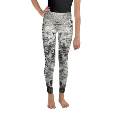 Silver Whispers - Youth Grey Leggings