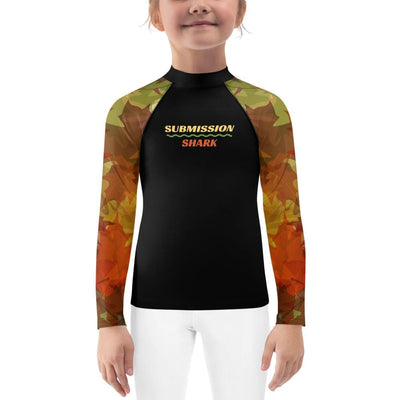 Kid's BJJ Rash Guard (Maple Fall)