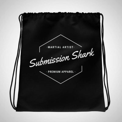 Submission Shark's Classic Drawstring Gi bag - tamlifestyle