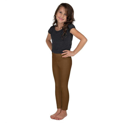 Brown SS Premium Standard | Kid's Leggings | Submission Shark - tamlifestyle