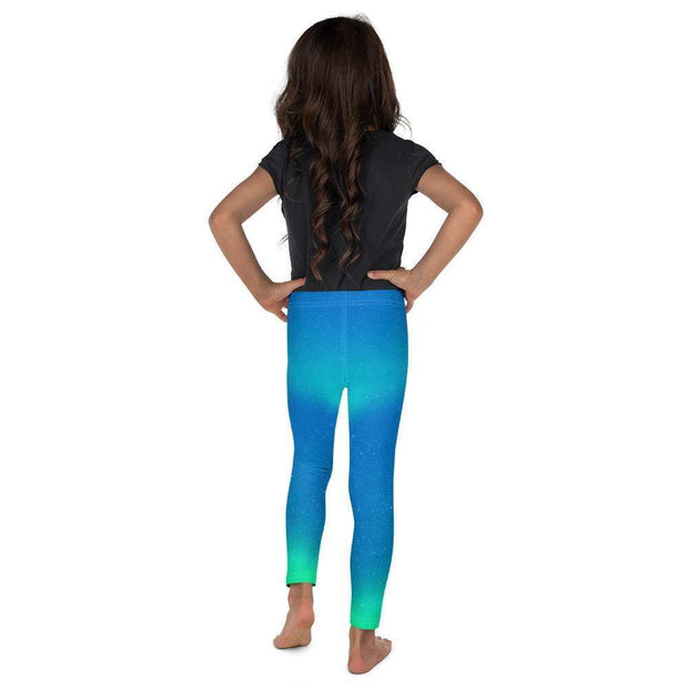 Cosmic Aurora Kid's Leggings | Submission Shark Back