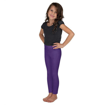 Purple SS Premium Standard | Kid's Leggings | Submission Shark - tamlifestyle