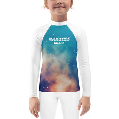 (Stardust Love) Kid's BJJ Rash Guard
