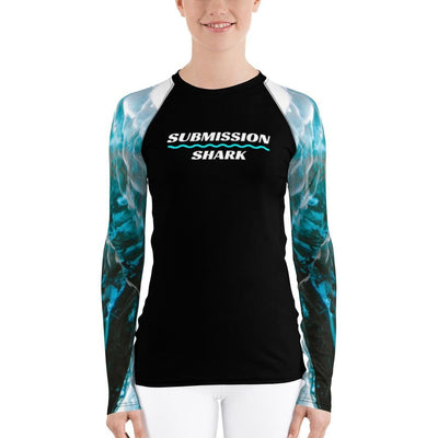 Angel Aura ~ Women's Jiu Jitsu Rash Guard