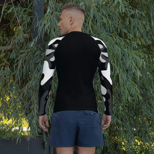 Ranked 1.0 Compression Shirt (Black) | Submission Shark Rashguard