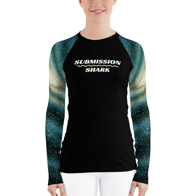 (Galactic Swirl) ~ Women's BJJ Rash Guard