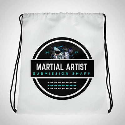 Submission Shark's Martial Artist Drawstring Gi bag - tamlifestyle