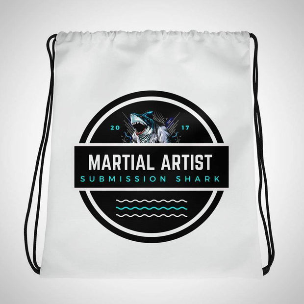 Submission Shark's Martial Artist Drawstring Gi bag
