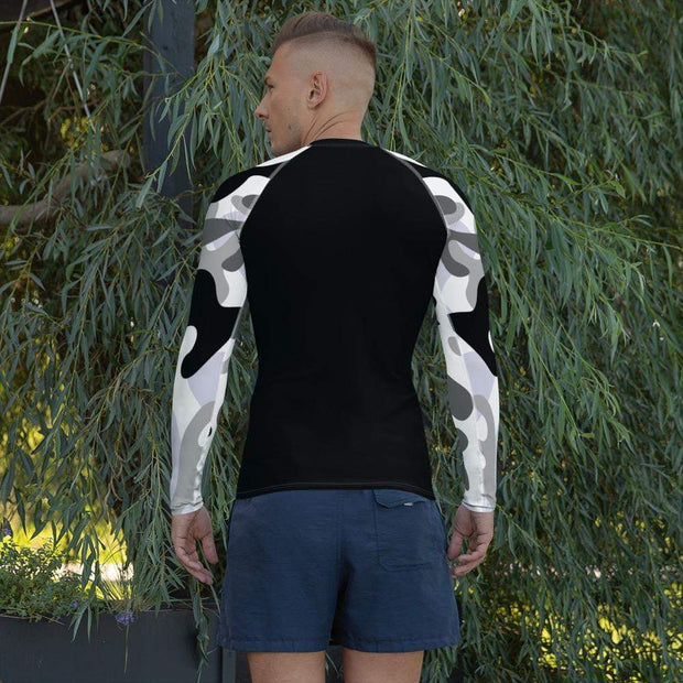 Ranked 1.0 Compression Shirt (White) | Submission Shark Rashguard