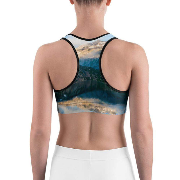 Rocky Blue Sports bra | Submission Shark Back