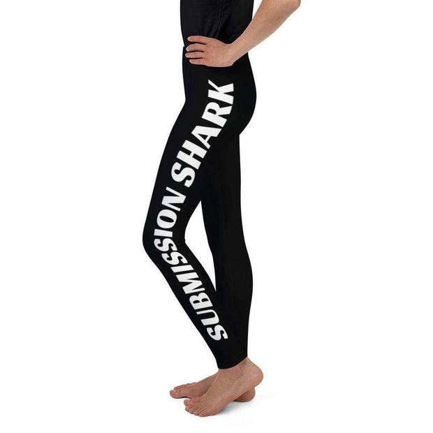Advanced Athletes Youth Leggings | Submission Shark Left