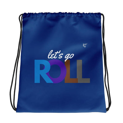 Let's Go Roll Drawstring Jiu-Jitsu/BJJ bag -Submission Shark