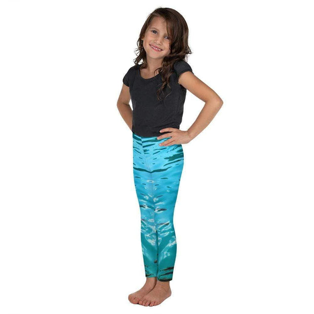 Fish's Paradise Kid's Leggings | Submission Shark Left
