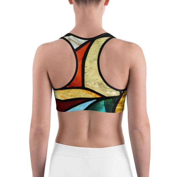 Glass Elements Sports bra | Submission Shark Back
