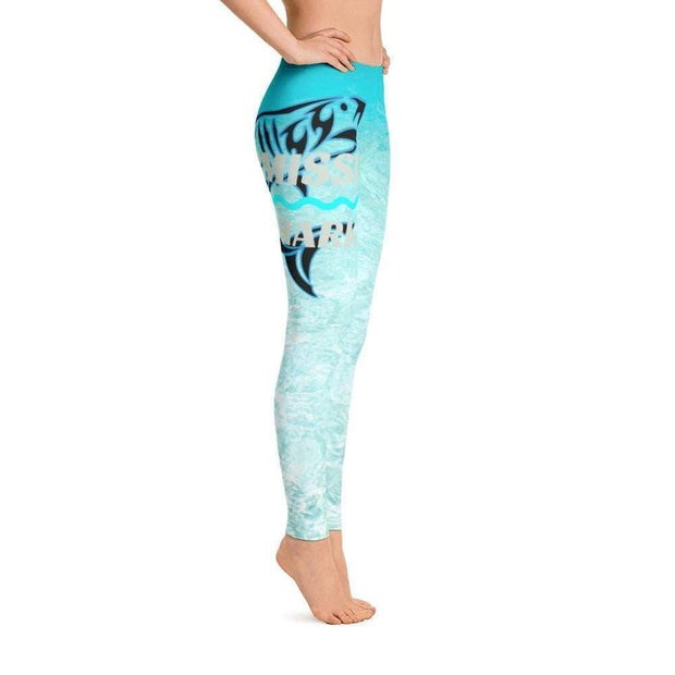 Ocean Paradise Leggings | Submission Shark Right