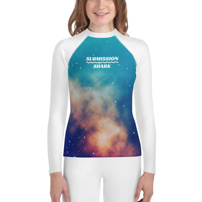 Stardust Love - Shop Unisex Youth Rash Guard (White)