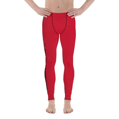 Red SS Premium Standard | Men's Compression Spats | Submission Shark - tamlifestyle