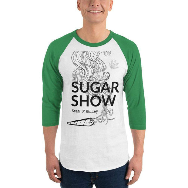 Sugar Show Sean O'Malley 3/4 sleeve raglan shirt Green